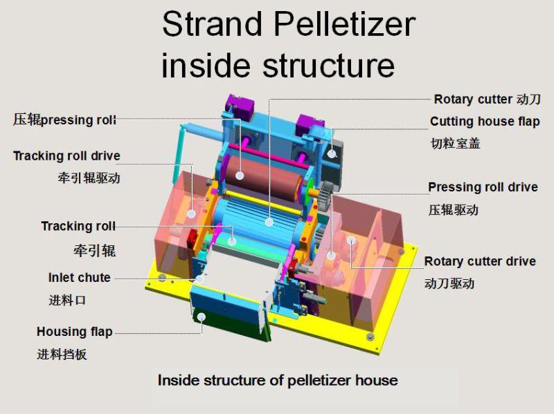 Plastic Pelletizer Strand Pelleting
