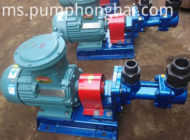 Three Screw Type Asphalt Bitumen Pump