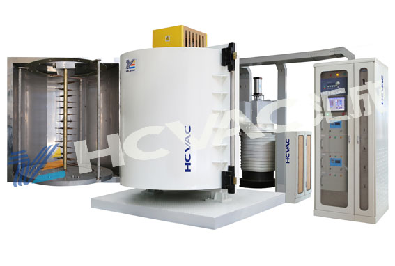 Disposable Plastic Silver Spoon Coating Machine/Plastic Spoons Vacuum Metallizing Machine