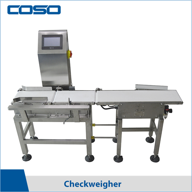 Conveyor Belt Check Weigher with Rejection System