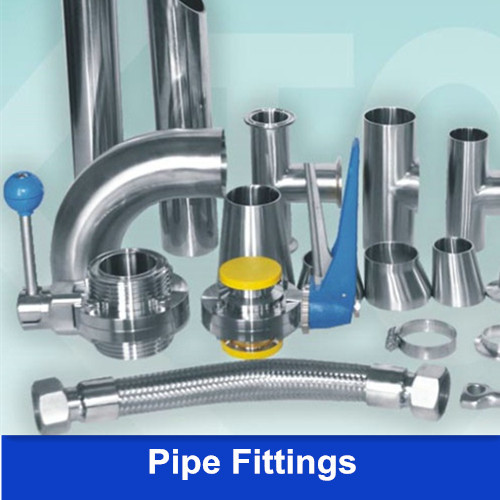 Sanitary Pipe Fittings - Ferrule Connector Clamp, Low Pressure