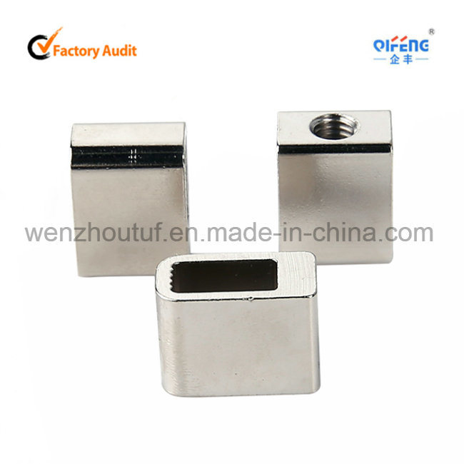 Brass Contacts Square Contact Bush Silver Plated