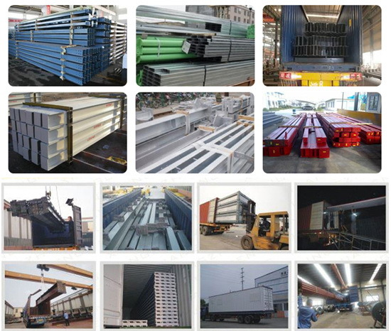 Heavy Steel Construction Workshop / Industrial Building for Producing