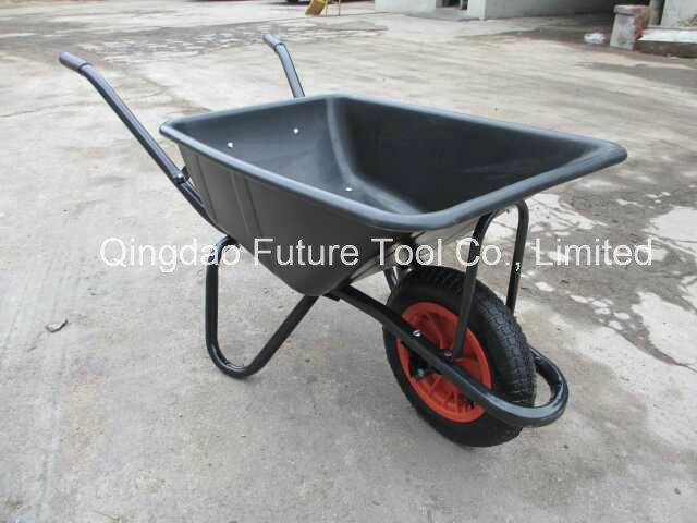 Hot Sale Durable Steel Construction Wheelbarrow, Construction, Garden Wheel Barrow