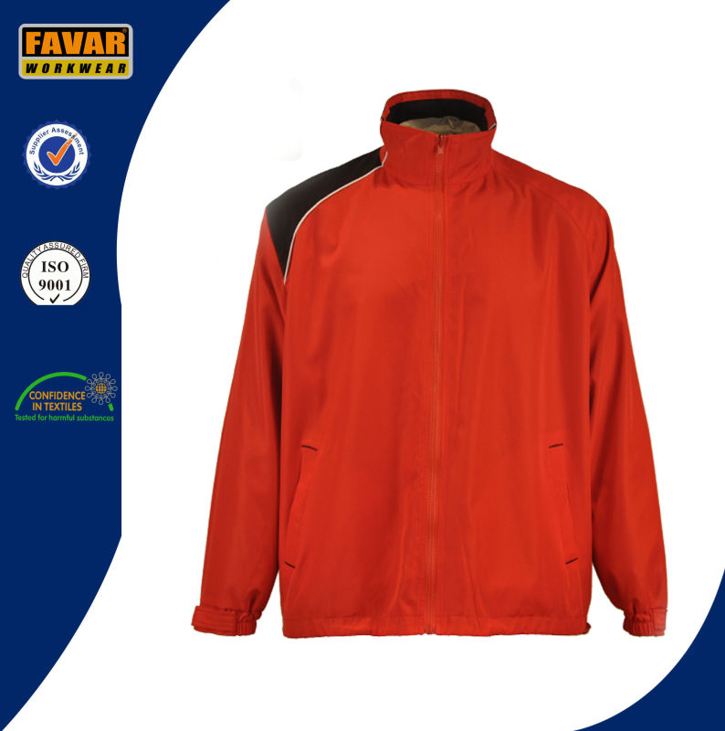 210t Polyester with PVC Coating Rain Jacket
