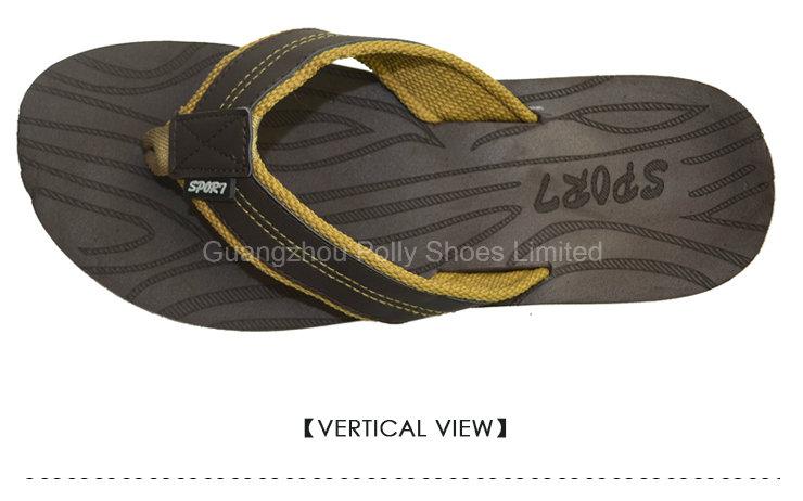 Men's Bonzer Leather Flip Flop Sandals Size 10