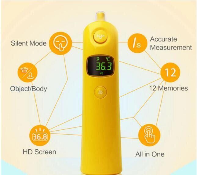 2018 New Arrival Unique Design Digital Infrared Ear Thermometer
