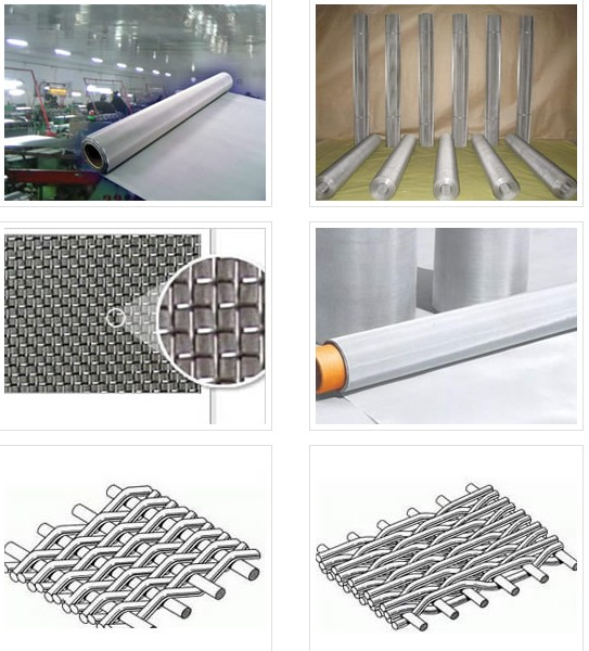 25 Micron Stainless Steel Filter Wire Mesh