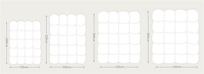 Professional Produce White Quilt (WSQ-2016024)