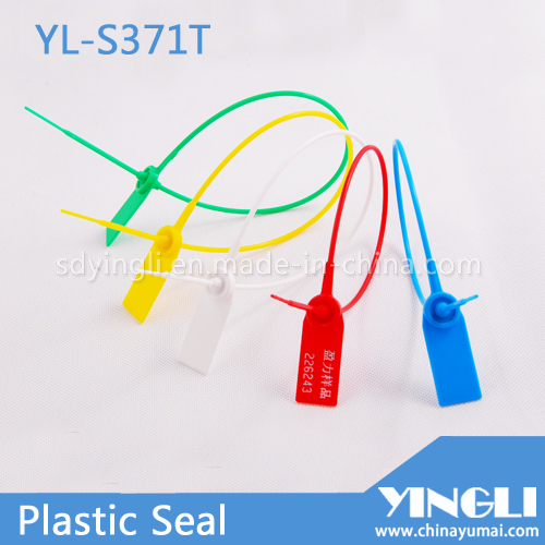 High Security Plastic Seal for Airline Logistic Using (YL-S371T)