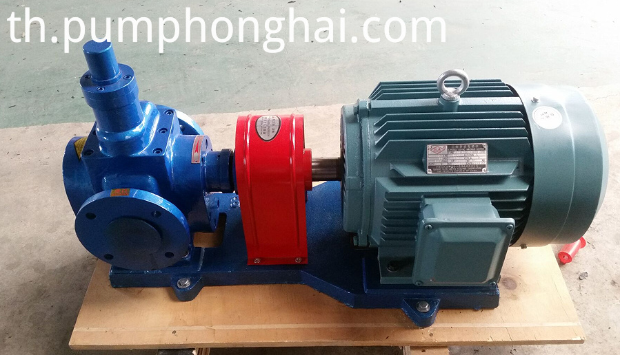 Electric Crude Oil Transfer Gear Pump