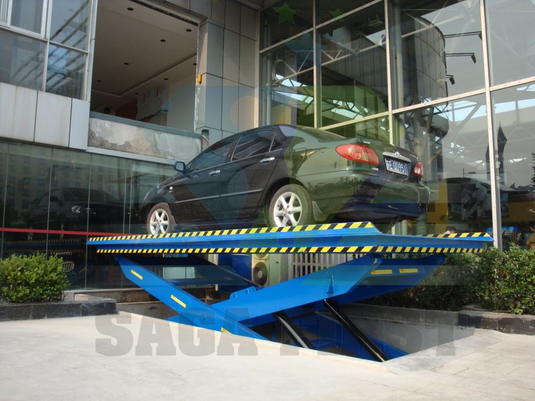 5ton Hydraulic Fixed Car Scissor Elevator