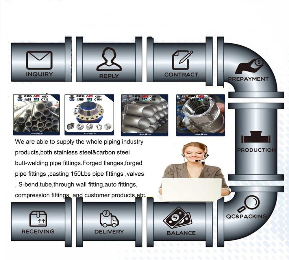 High Pressure Seamless Steel Pipe Fitting Butt Welded Equal Cross