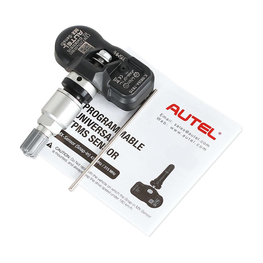 Original Autel Mx-Sensor 315MHz Programmable Universal TPMS Sensor Mx Sensor 315 MHz Car Diagnostic with Free Shipping
