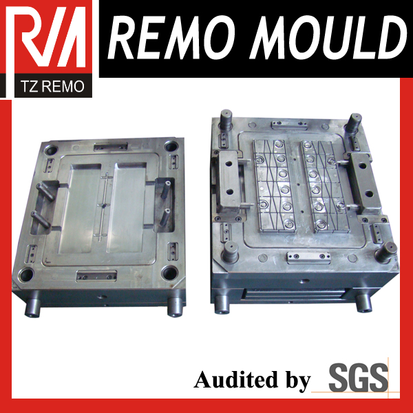 Plastic Car Battery Cover Mould