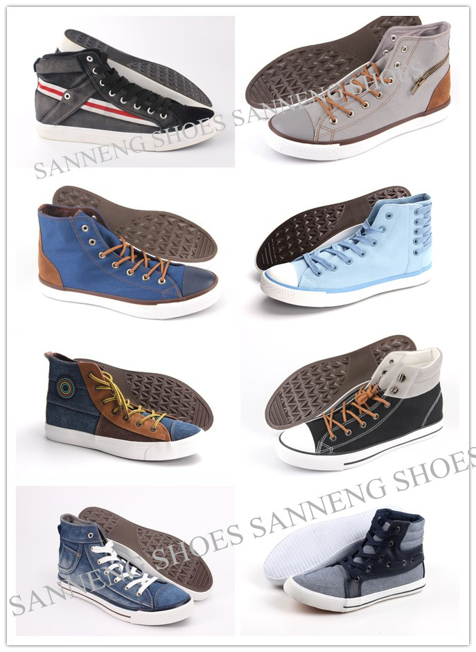 Men Shoes Leisure Comfort Men Canvas Shoes Snc-0215008
