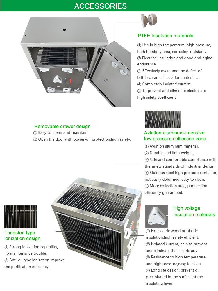 Xukang B90 Commercial Kitchen Fume Eliminator