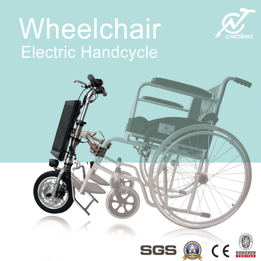 Strong Aluminum Frame Wheelchair Electric Handcycle 36V 250W /350W