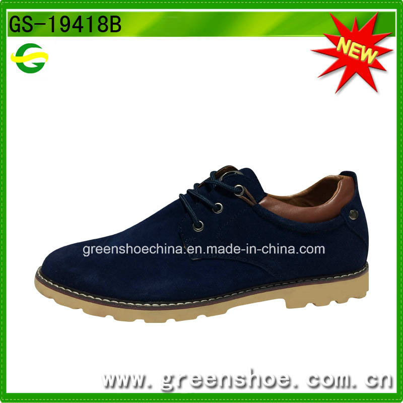 Men Suede Upper Oxford British Style Shoes