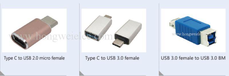 Aluminium Micro Cable USB 3.1 Type C Adapter