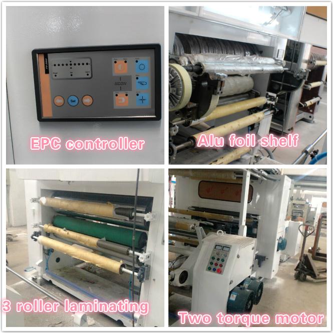 High Speed Plastic Film Dry Laminating Machine