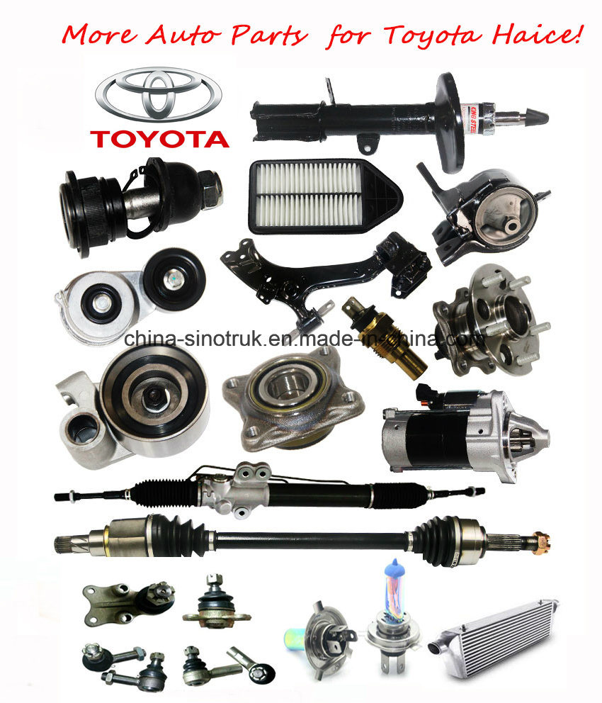 Top Quality Original Body Parts & Accessories for Toyota Haice with Lowest Price