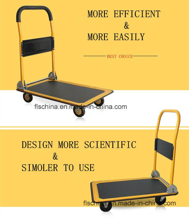 Aluminum Trolley 150kgs/300kgs with Four Wheels