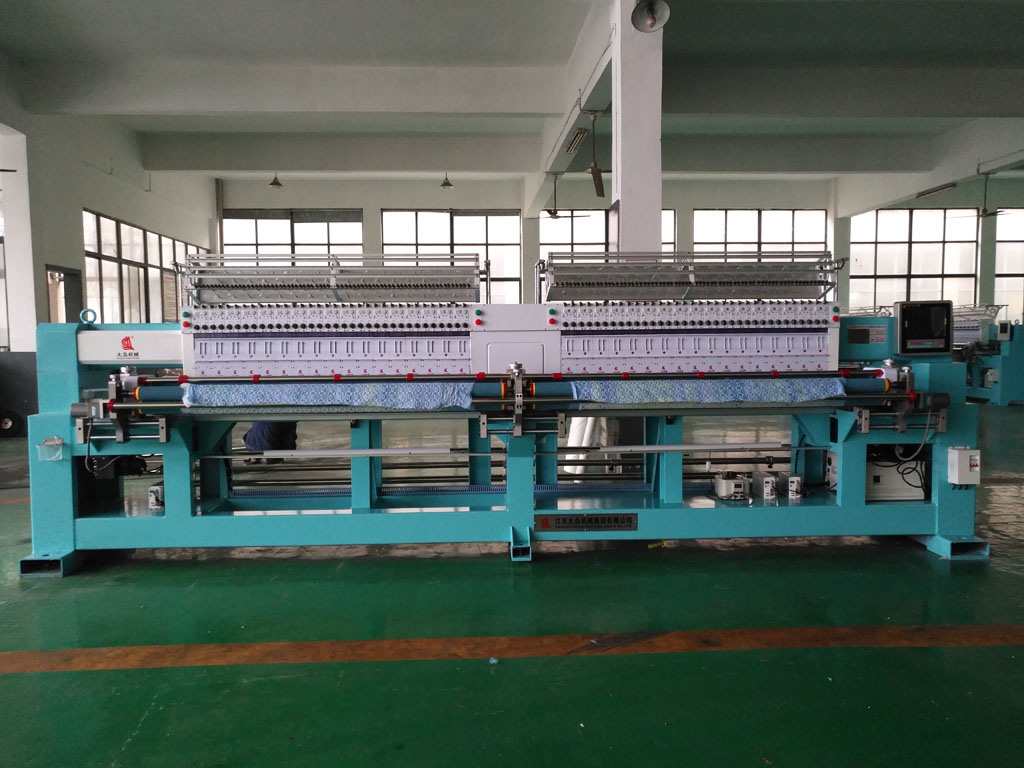 High Speed 34 Head Computerized Quilting Machine for Embroidery