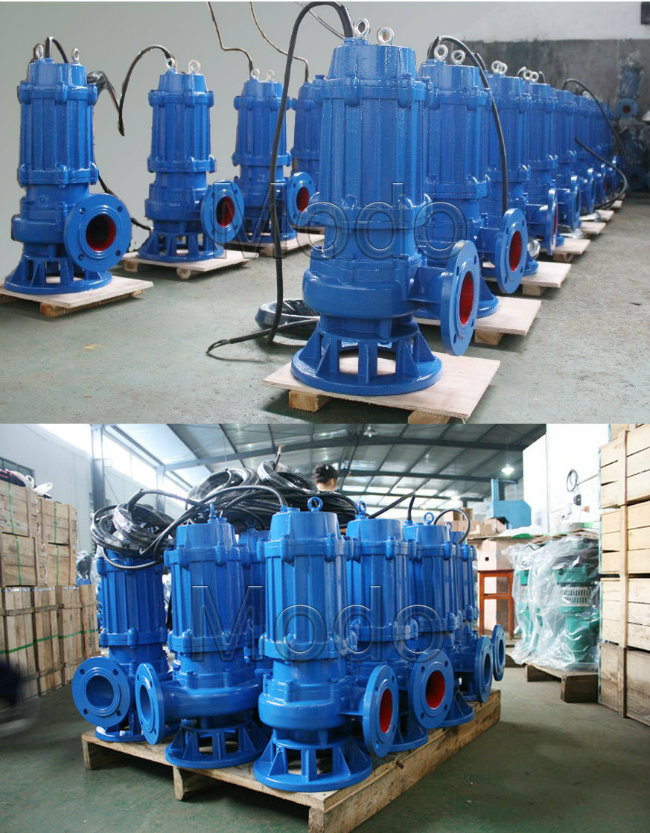 Electric Submersible Sewage Pump for Municipal Works
