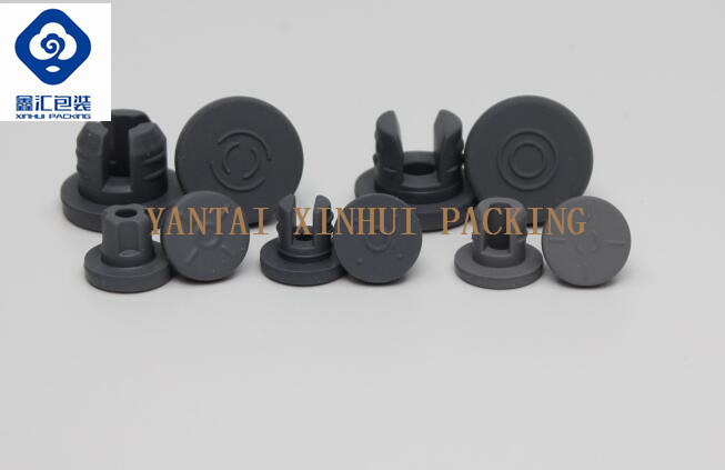Dry Powder Injection Vial Use Lyophilized Rubber Stopper