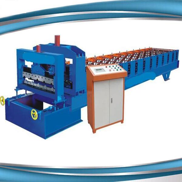 Metal Roofing Galvanized Aluminum Corrugated Steel Sheet Making Machine Made in China