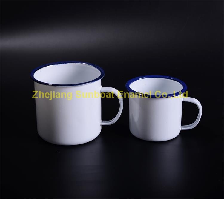 Various Capacity Enamel Camping Mugs