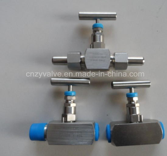 Ss, High Pressure 304 316double Ferrule Needle Valve