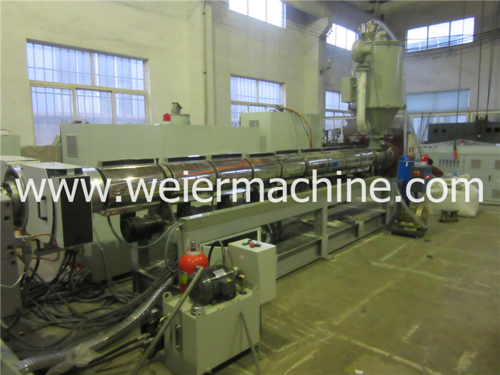 PP PE PC Hollow Sheet/Grid/Plate/Board/Extrusion Line Machine