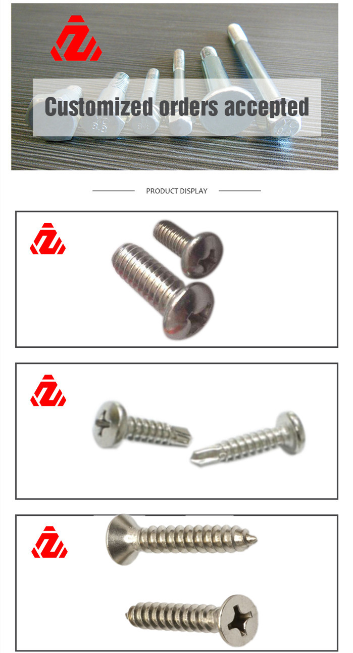 304 Stainless Steel Pan Head Screw