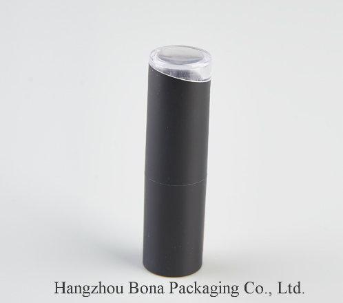 Plastic Empty Matte Black  Lipstick Tube for Lipstick
