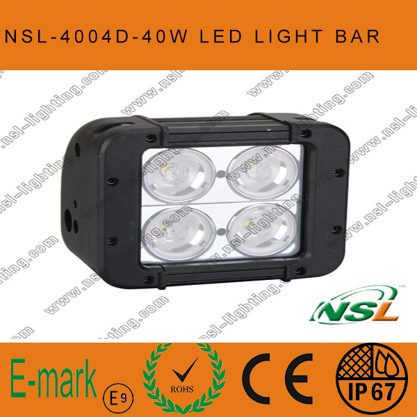 4.5 Inch 40W Factory Sale Cheap 4*4 Offroad LED Light Bars, CREE LED Light Bar