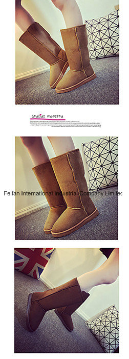 High Tube New Arrival Snow Boots Girl Casual Footwear Boots