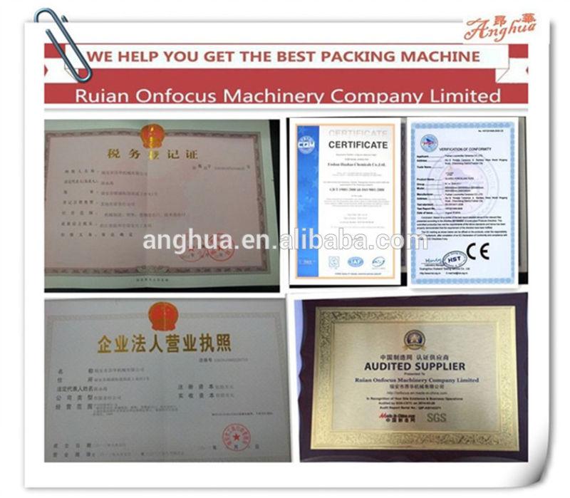 Automatic Granule Packing Machine 200-1000g Snack Package Machine (AH-KL1000)