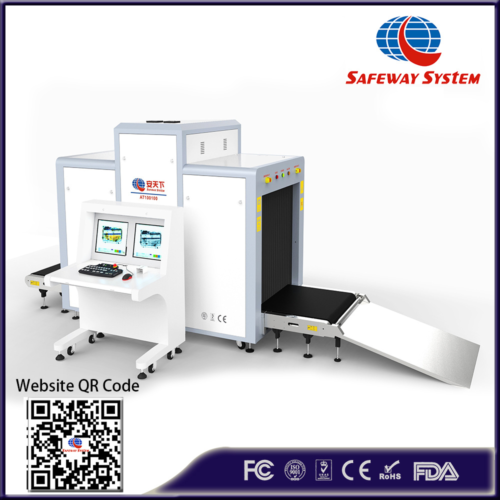 At100100 Oversize X-ray Scanning Inspection System for Baggage and Luggage X Ray Machine