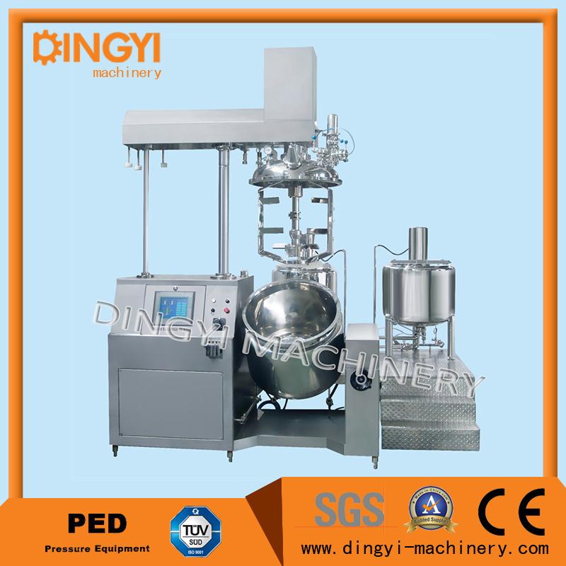 350L Cream Ointment Hair Color Vacuum Emulsifying Mixer