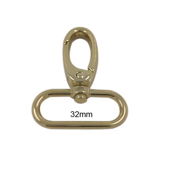 Cheap Promotional 3.2cm Swivel Metal Bag Hook