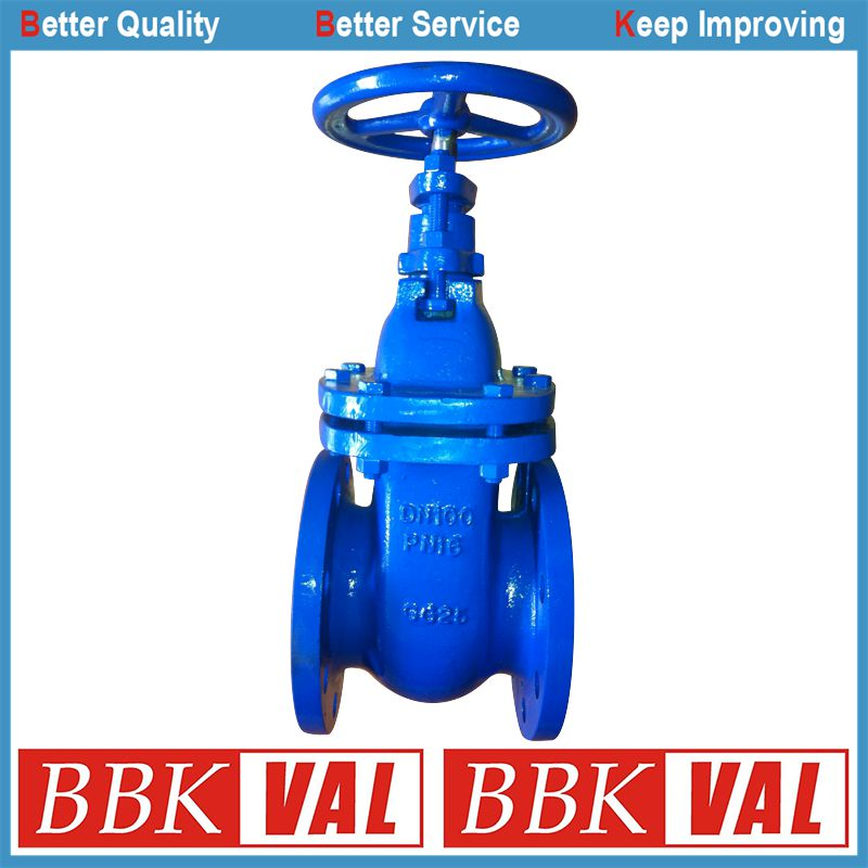 DIN 3352 F4 F5 Gate Valve, Metal Seated