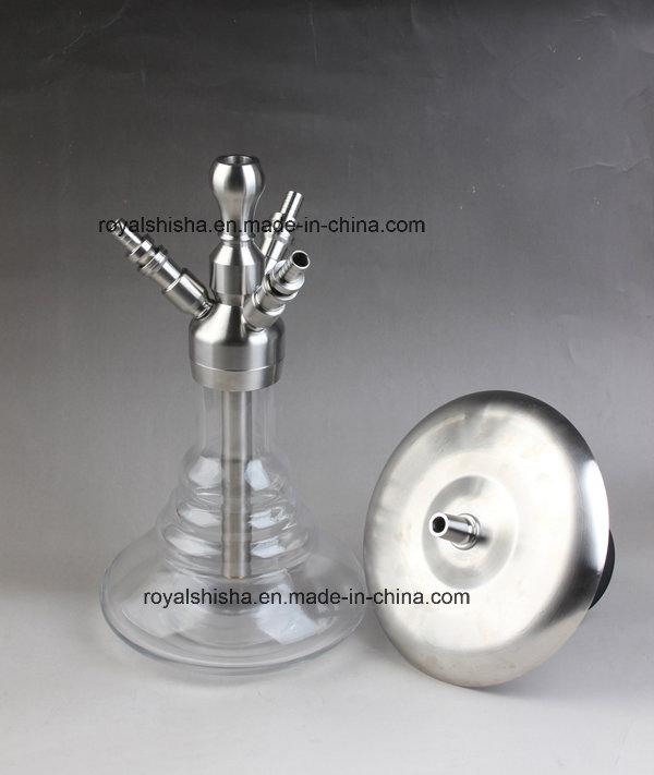 High End Stainless Steel Smoking Water Pipe Hookah Shisha