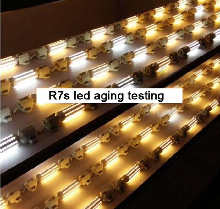 4000k White Color LED R7s Lamp LED R7s 300W Halogen LED Replacement