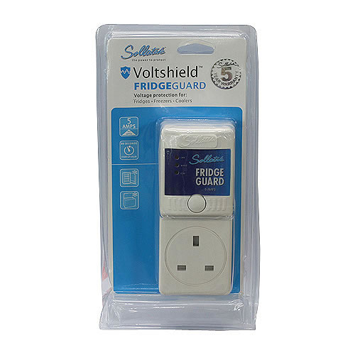 Voltage Protector Hivolt Guard with UK Type Socket & Plug