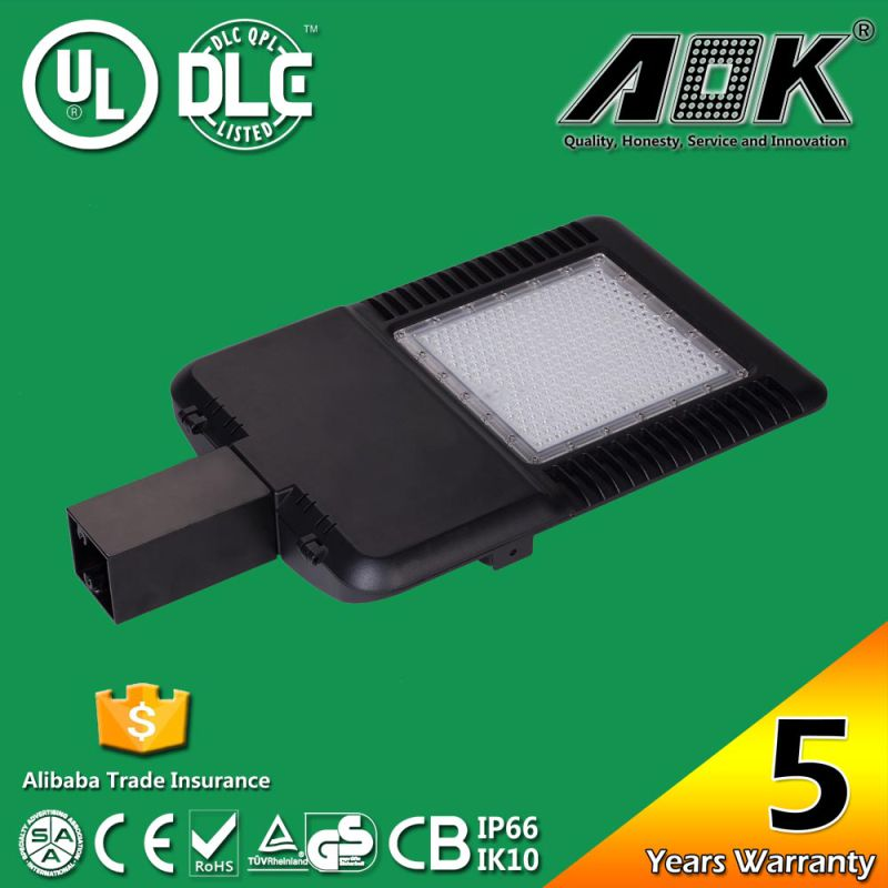 UL cUL Dlc Approved Taiwan Meanwell Driver 130lm/W 1000W Replacement LED Parking Lot Light