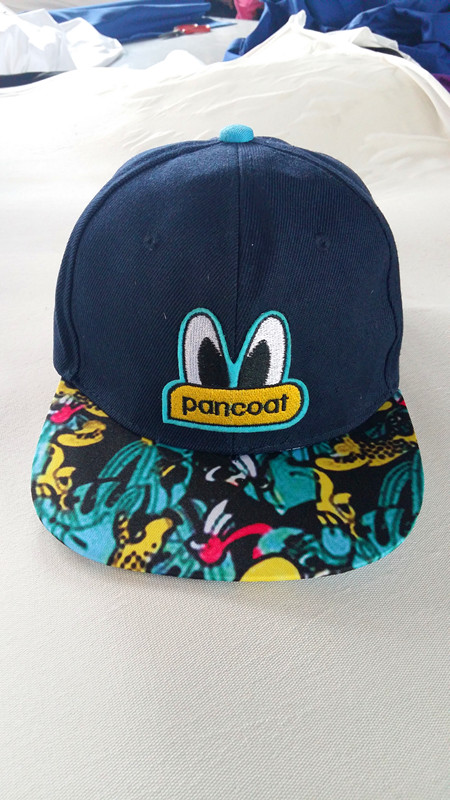 Cartoon Hat Sport Cap Hip-Hop Cap City Fashion Hat Popular Cartoon Embroidered Cap