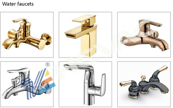 Brass Faucet PVD Coating Machine Santiary Arc Ion Coating Machine
