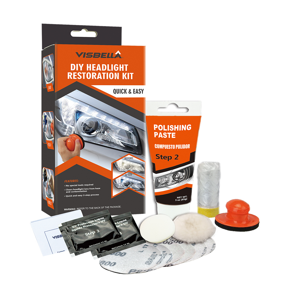 Economic and Efficient Headlight Restoration Cleaner